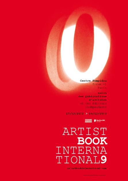 Affiche Artist Book International