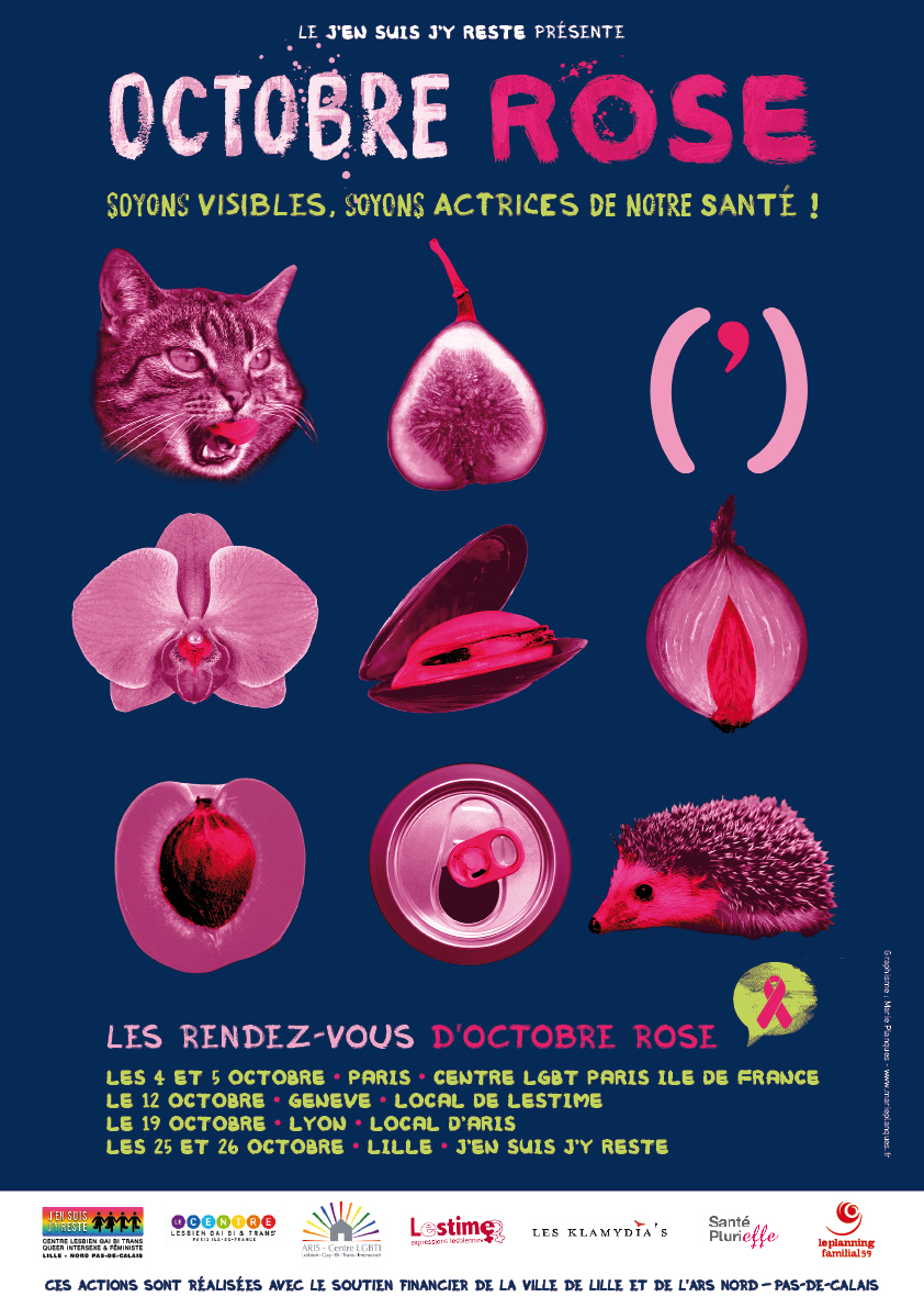 Affiche Octobre Rose © Marie Planques