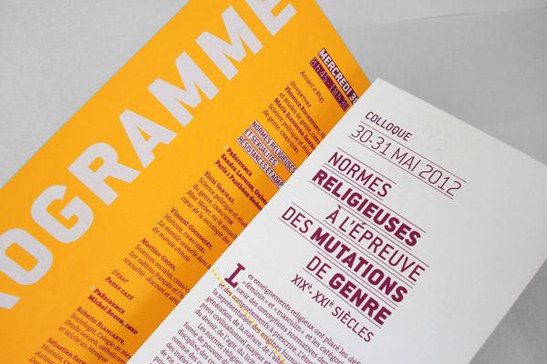 Programme dépliant © Marie Planques