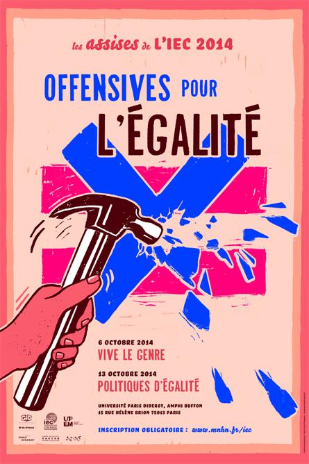 Affiche IEC © Marie Planques