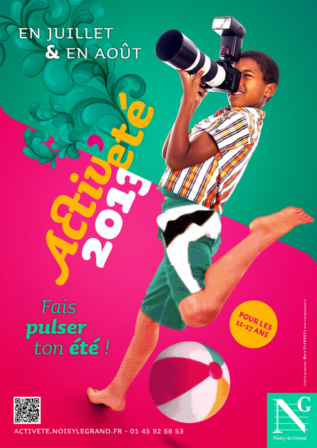 Affiche Activ'été - Noisy-le-Grand