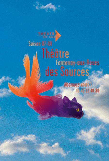 Affiche Théâtre des Sources © Marie Planques